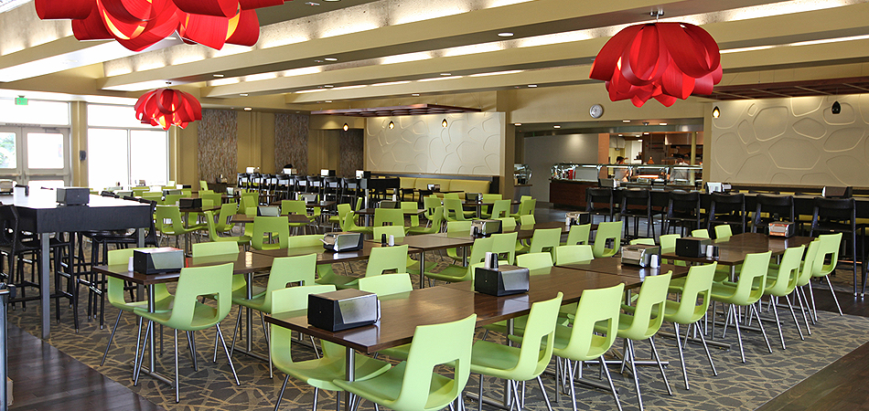 Everybody s kitchen usc hospitality for Kitchen dining hall design