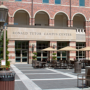 Ronald Tutor Campus Center Exterior